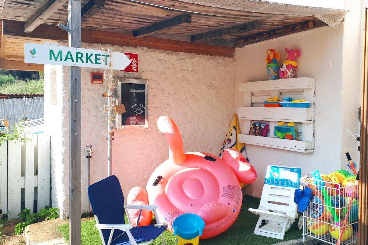 Is Arenas Camping Village | Minimarket